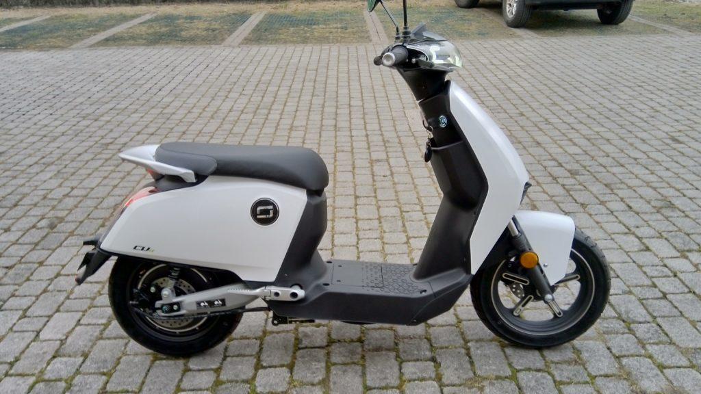 Scooter elettrico a Bergamo super soco cux