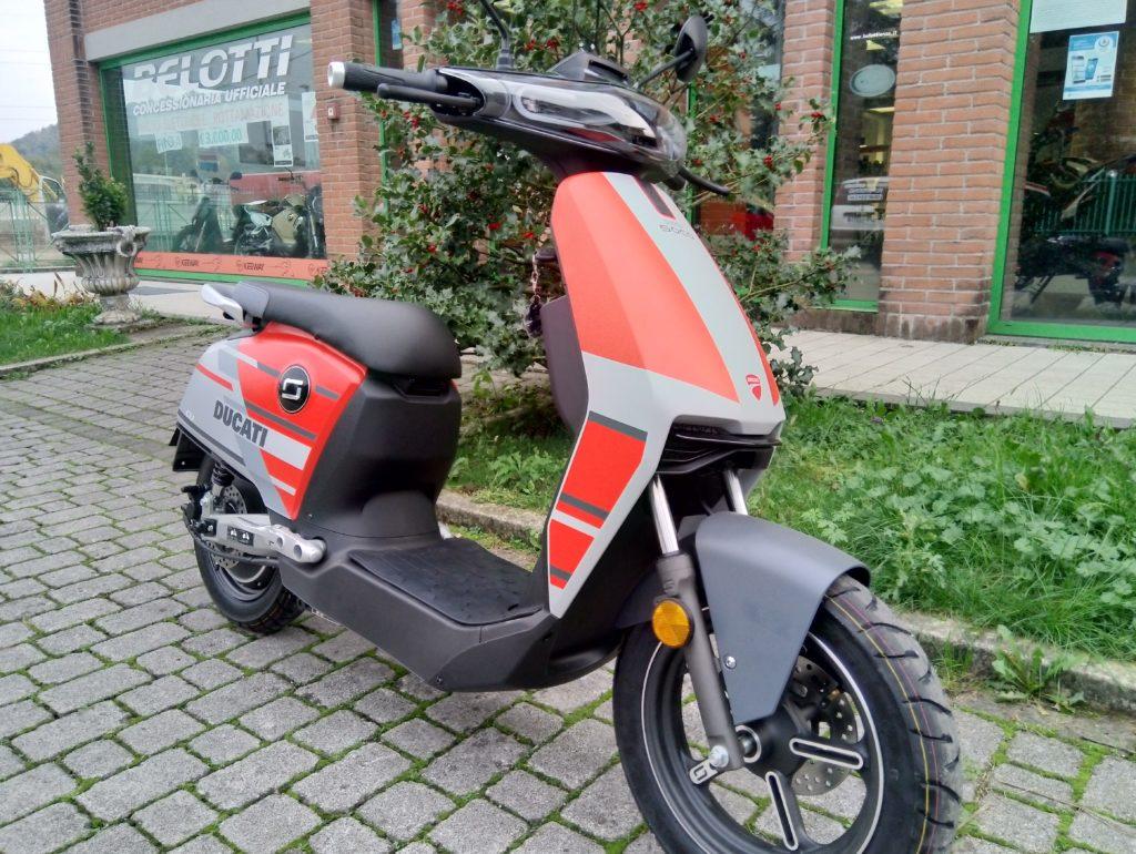 scooter ducati elettrico