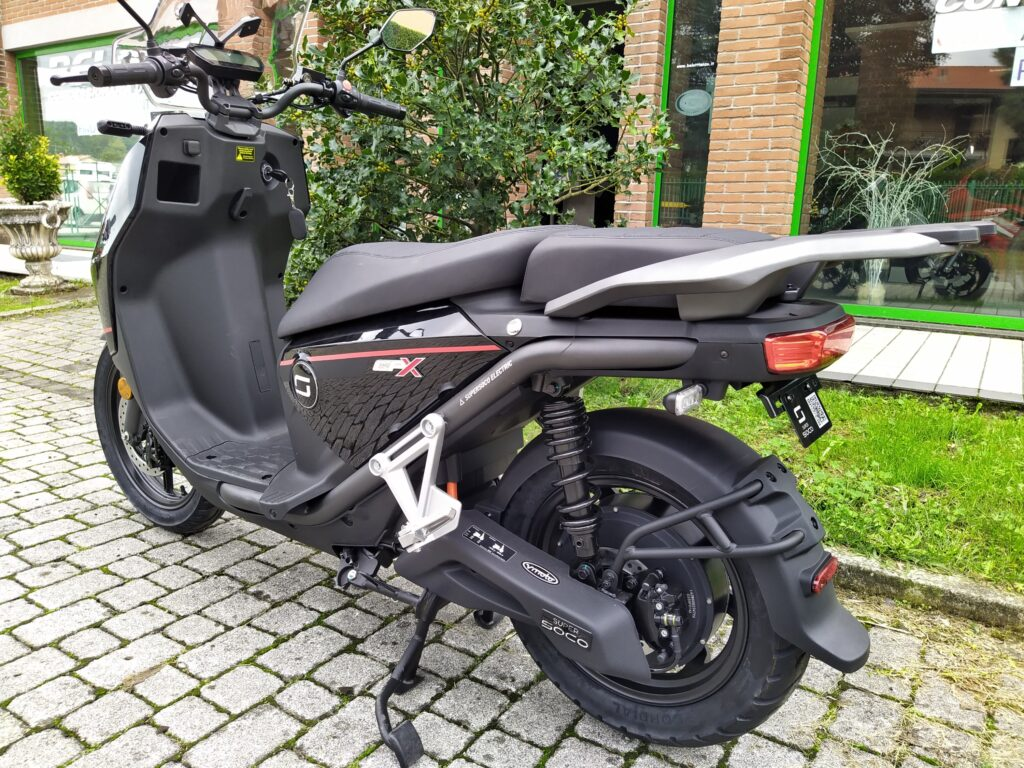 Scooter soco CPX